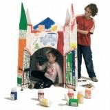 Château à colorier - Colouring castle