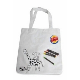 Sac crayons - Coloring bag with pencils