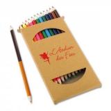 Boîte de 12 crayons de couleur - 12 pencils set