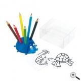 Pot à crayons Coccinelle- Ladybird pencils