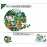 Puzzle Animaux de la jungle