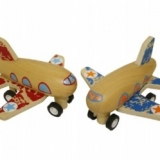 Avion en bois Wooden plane