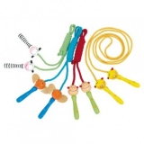 Corde à sauter en bois personnalisable Wooden jump rope with your logo