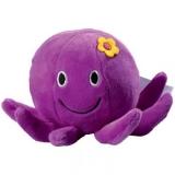Peluche pieuvre violette