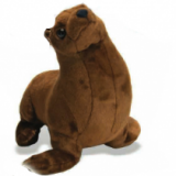 peluche phoque lion - Lion seal plush toy