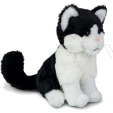 Peluche chat 18 cm