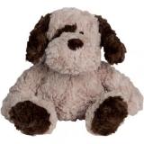 Peluche chien_beige 20 cm