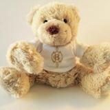 Peluche ours personnalisée pour l'Intercontinental *****Paris Le Grand