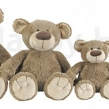 Famille d'Ours beige - Beige bear's family
