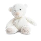 First teddy bear blanc