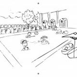 Château des Tourelles- carnet de jeux et de coloriage