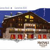 Livret de Jeux & de coloriages du Manali ***** Courchevel