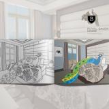 Carnet de coloriage pour l'hôtel Royal Savoy