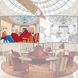 Montage Hall Hôtel Frontenac