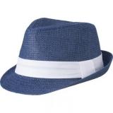 Chapeau canotier - Blue hat