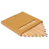 Boîte de crayons carrée