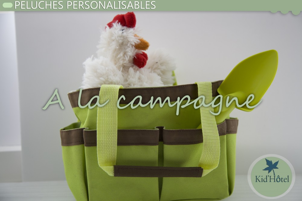 peluches thème campagne