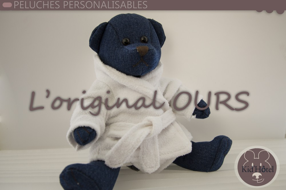 peluches ours personnalisables