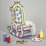 Fauteuil à colorier - Colouring rocking chair