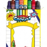 Set de 8 crayons - Set 8 pencils
