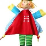 Marionnette bois & tissu