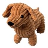 Peluche en forme de chien - 30 cm de longueur