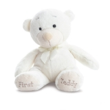 First teddy bear blanc