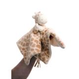Carré doudou girafe
