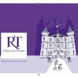 Château des Tourelles carnet de jeux et de coloriage