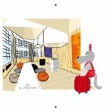 Hôtel Le 5 Codet Paris - carnet de jeux et de coloriage