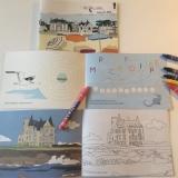 Livret de coloriages et de jeux Presquîle de Quiberon