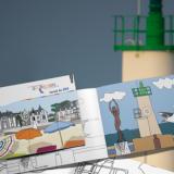 Carnet de jeux pour l'Office de Tourisme de Quiberon