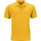 Polo_Workwear_Homme_jaune_or_Devant_JN846