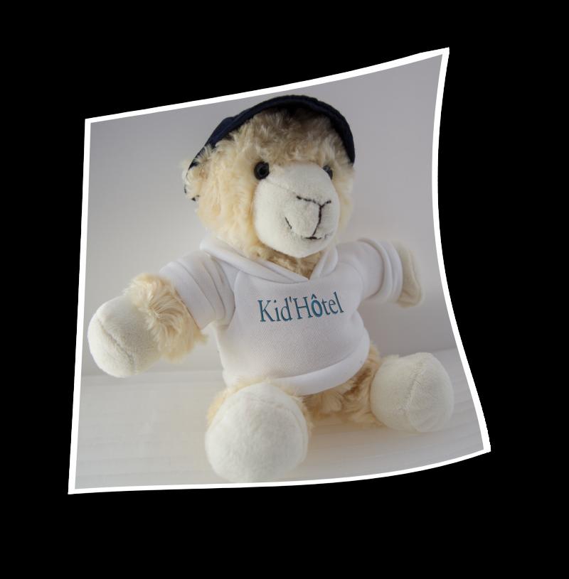 Mouton avec T-shirt Kid'Hôtel