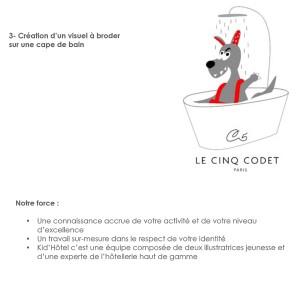 Nous œuvrons également pour les hôtels qui veulent développer leur clientèle, la fidéliser en offrant des objets promotionnels personnalisables