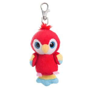 Customizable parrot key ring