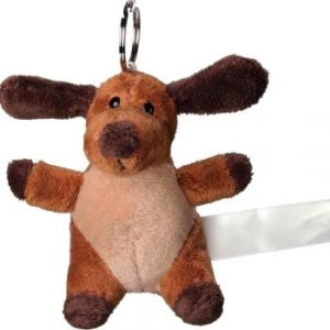 key ring dog plush