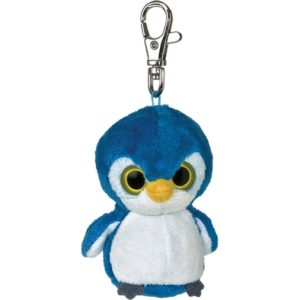 Customizable penguin key ring