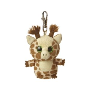 Customizable giraffe key ring