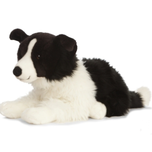 Peluche personnalisee border collie