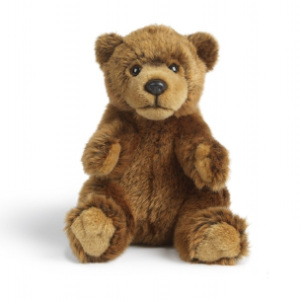 peluche ours brun personnalisable