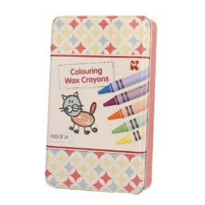 Boite metal 36 crayons