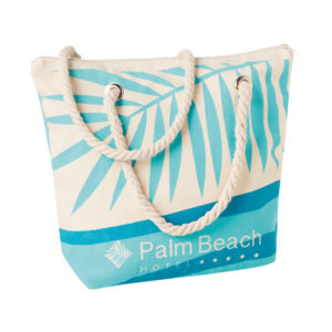 sac de plage hotel personnalisable