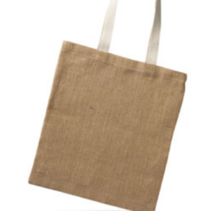 Customizable Jute canvas totebag