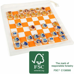 Chess game travel