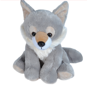 Customizable wolf plush KidHotel
