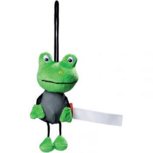 peluche reflechissante grenouille Kidhotel