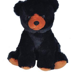 Black teddy bear 35 cm