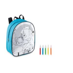sac à dos enfant à colorier