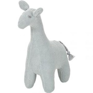 peluche girafe grise